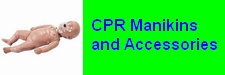 CPR Mannikins and Accessories