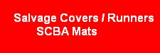 Salvage Covers, Runners, SCBA Staging Mats