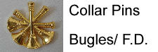 Officer Bugle - F.D. Pins, PA State jewelry